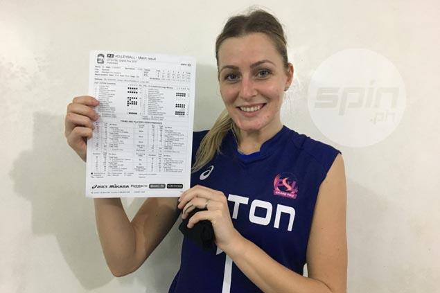 Sara Klisura drops PSL-record 41 as Foton deals F2 Logistics first loss in thrilling five-set clash