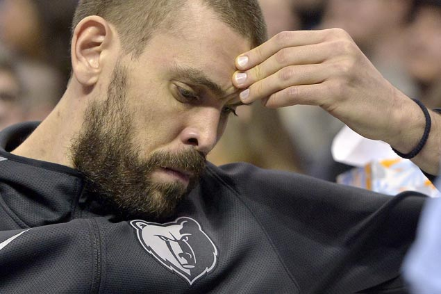 Marc Gasol frustrated with fourth-quarter benching: 'If I'm not on the floor, then I'm not valued'