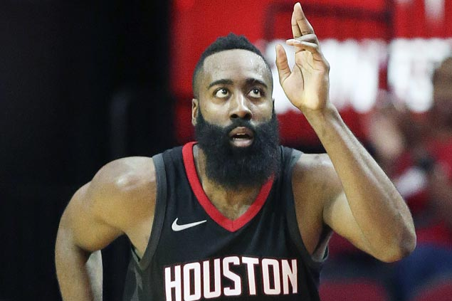 James Harden sparks early surge, Rockets hit 20 triples in big win over Nets
