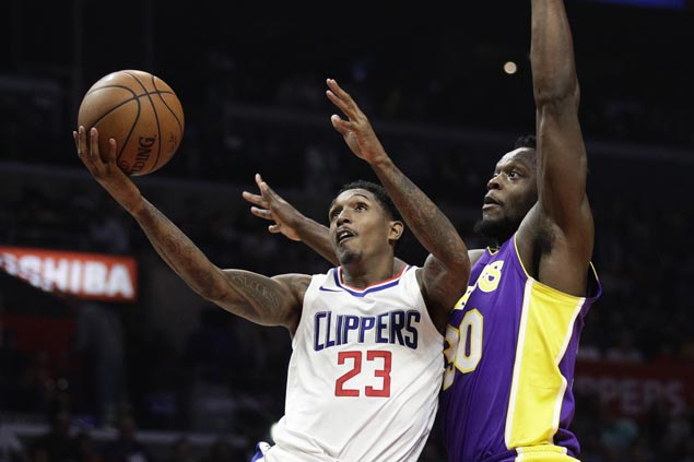 Lou Williams scores season-high 42 as Clippers beat Lakers but Blake Griffin hurts knee in endgame