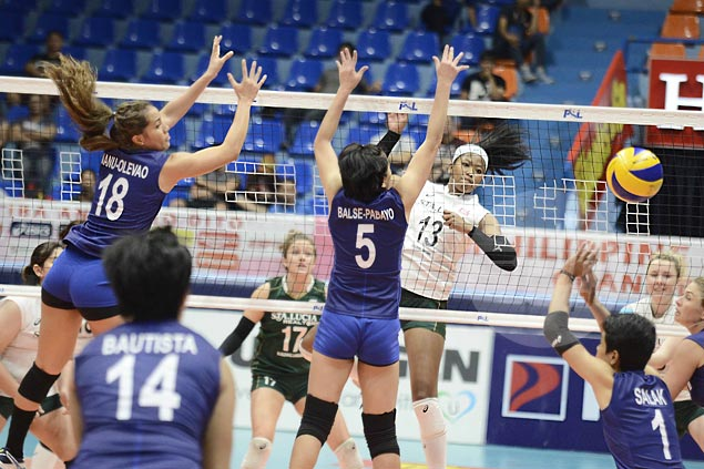 Sta. Lucia fights back from two sets down to beat Cocolife for second win in PSL Grand Prix