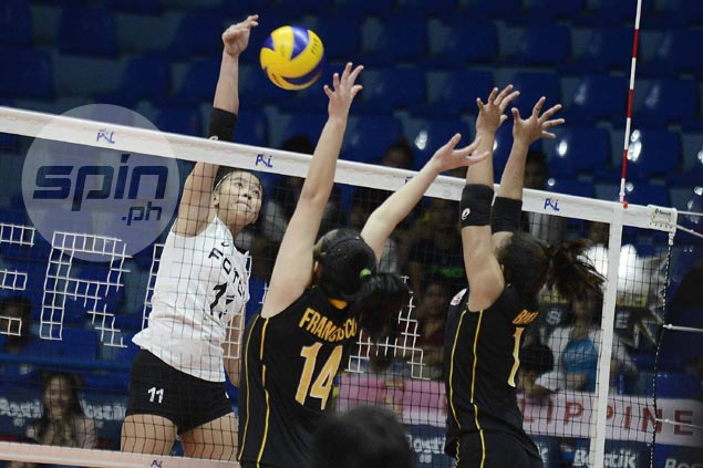 Foton makes quick work of winless Victoria Sports-UST to tighten grip on PSL Grand Prix lead