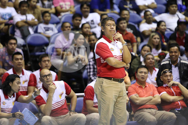 Leo Austria says game versus Meralco the first real test for San Miguel