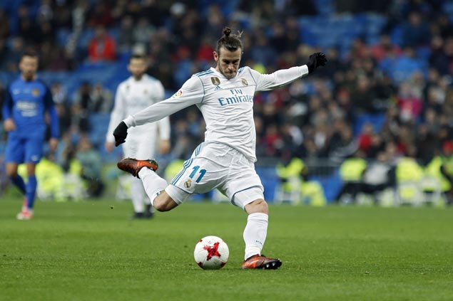 Gareth Bale returns to set up two goals as Madrid reserves draw with third-tier Fuenlabrada