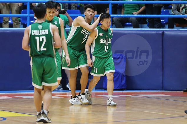 Jacob Lao leaves LSGH on a high after helping Greenies clinch first-ever NCAA title