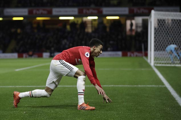 United attacking prowess on display again with its sixth four-goal game in Premier League this season