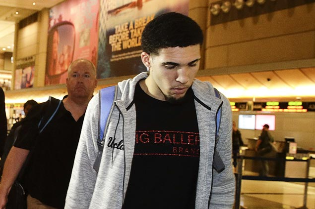 LiAngelo Ball, two teammates working out on their own as they await UCLA decision on suspension