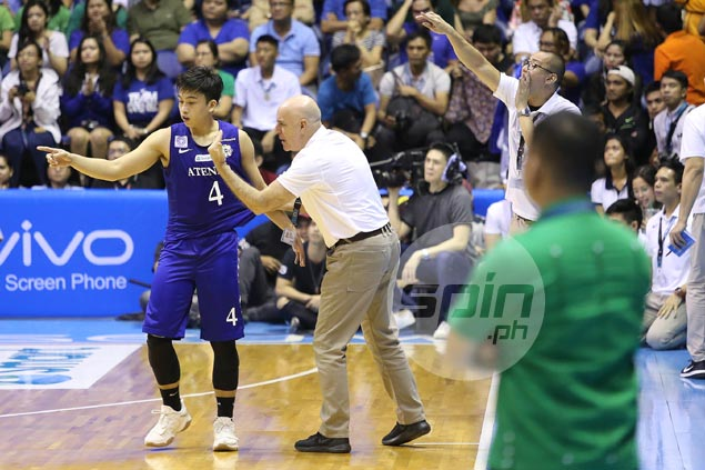 Tab Baldwin's worst fear comes true as Ateneo shows lack of killer instinct in Game Two