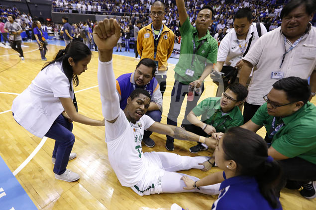 By learning to relax, Ben Mbala regains top form just in time to rescue La Salle