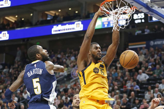 Jazz ride second half surge to third straight win with romp over Nuggets