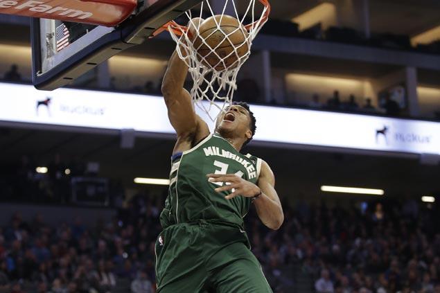 Giannis Antetokounmpo sparks huge third quarter blitz as Bucks trample Kings