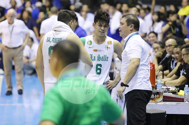 La Salle says Riveros taking leave from team due to conflict over endorsement deals