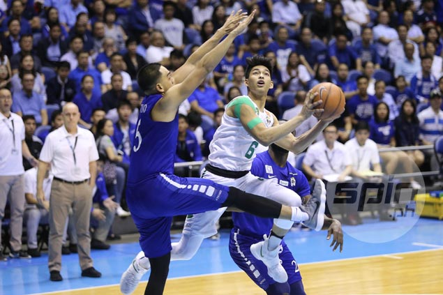 Ricci Rivero turns tears to cheers, sparks big La Salle comeback over Ateneo in Game Two