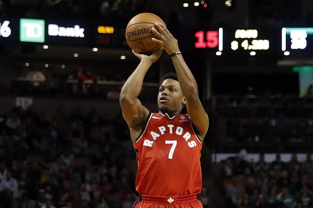 Kyle Lowry nails career-high eight triples as Raptors down undermanned Hornets
