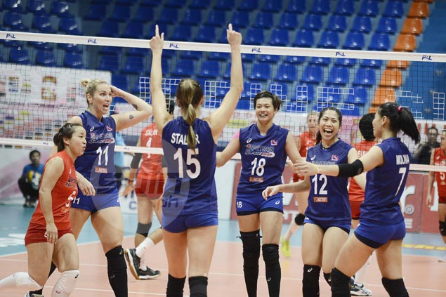 Petron Blaze Spikers rip Cocolife to gain share of Super Liga GP lead