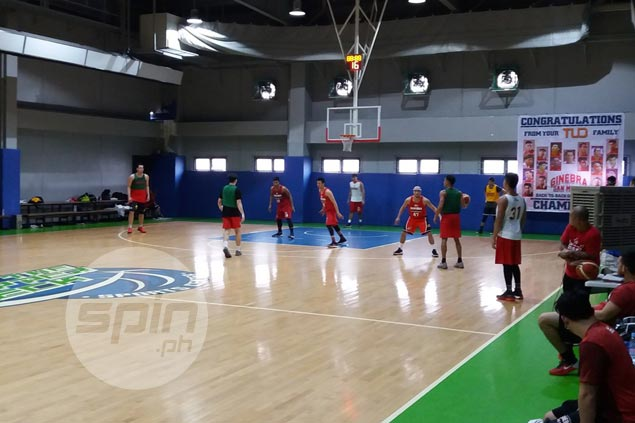 John Wilson, second-gen Cabahug trying out as Ginebra eyes shooters at start of camp
