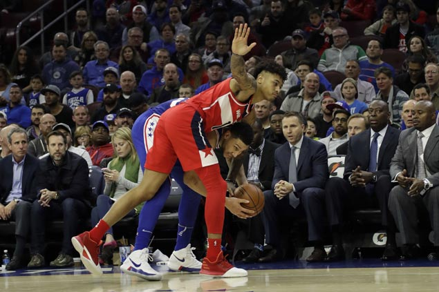 Sixers foil Hack-a-Ben-Simmons strategy to turn back struggling Wizards