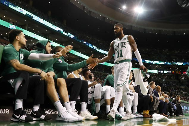 Kyrie Irving savors 'ultimate freedom' after another late show in Celtics win over Sixers
