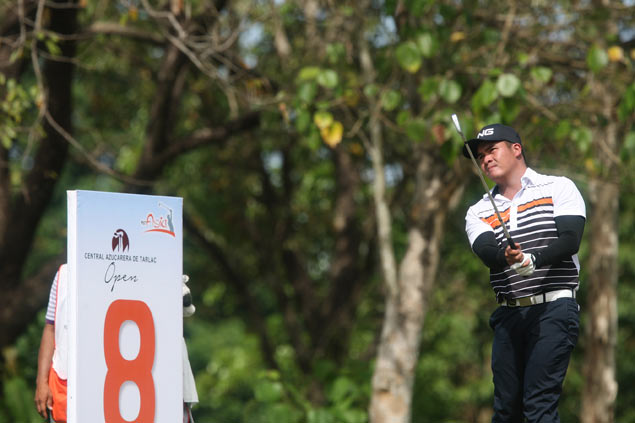 In-form Justin Quiban opens five-shot lead with one round left at Luisita
