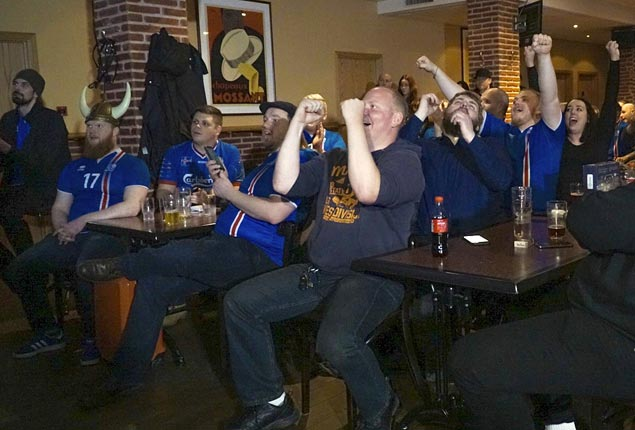 Iceland, smallest nation ever to reach World Cup, debuts against powerhouse Argentina