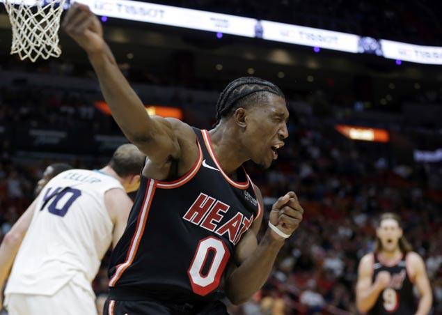 Josh Richardson shows way as Heat overcome sluggish start to beat Hornets
