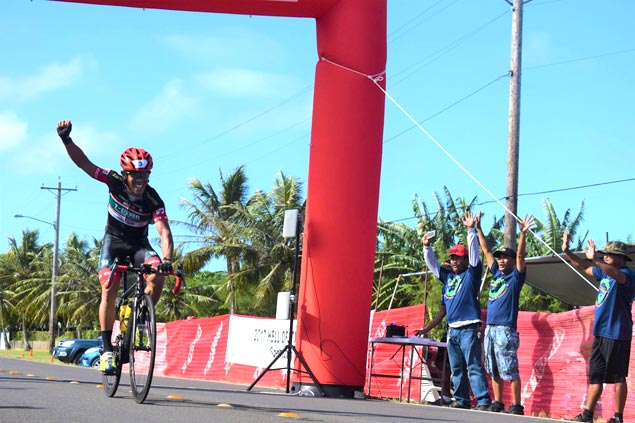 Mark Galedo rules Hell of the Marianas cyling race in Saipan