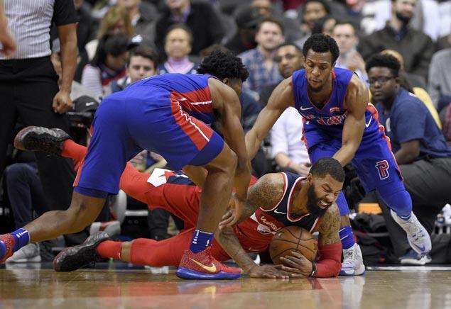 Markieff Morris, Tomas Satoransky shine as Wizards down Pistons to end home skid