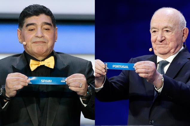 Old rivals set for early clash as Spain, Portugal drawn to play in same group at World Cup