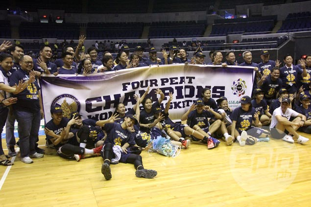 With 64 straight wins, NU Lady Bulldogs nine victories away from tying UAAP longest winning streak