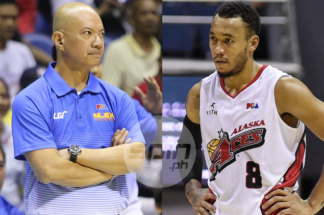 Yeng Guiao, Calvin Abueva exchange 'sweet nothings' in Alaska-NLEX preseason game