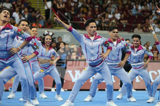 Eat Bulaga!, FB retro posts inspire Adamson Pep Squad's title-winning cheerdance show