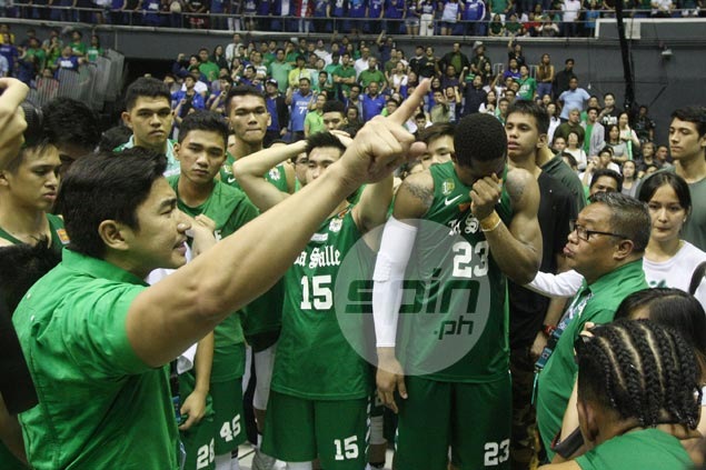 Aldin Ayo admits 'unresolved issues' from championship season weighed down La Salle