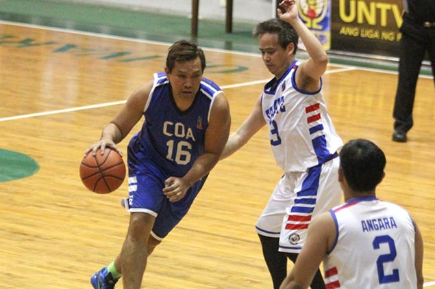 Senate bags group lead with rout of CoA as GSIS keeps hopes to advance in UNTV Cup alive