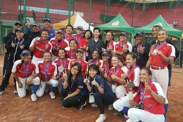 Blu Girls qualify to Asian Games, World Championships with silver in Asian Softball tilt in Taiwan