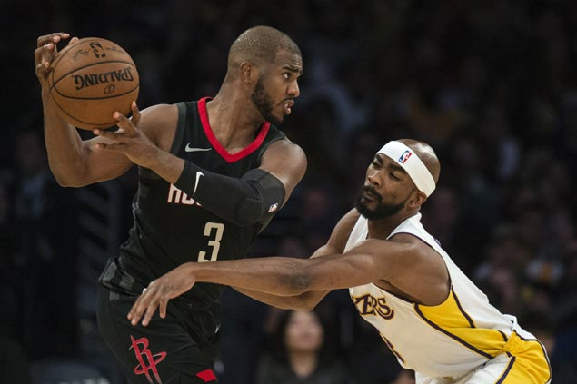 CP3 says Houston 'capable of a lot more' as Rockets blasting foes since his return from injury