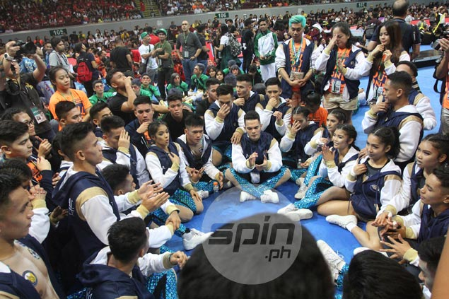 NU Pep Squad believes failed five-peat bid only fuels motivation for next season