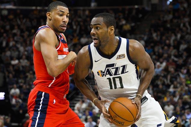 Alec Burks sustains hot scoring run as Jazz shut down Wizards to season low in points