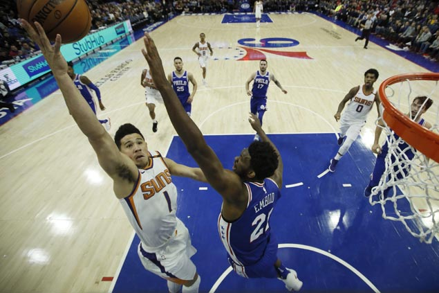 Devin Booker explodes for 46 points as Suns squash Sixers late comeback