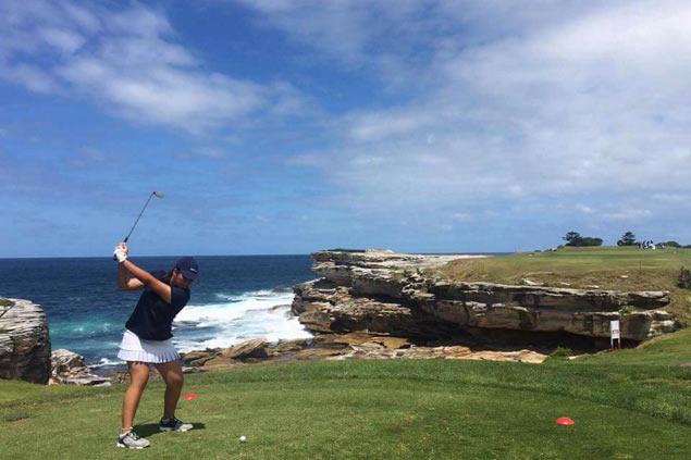 Dabawenya golfer Ella Nagayo keeps Stuart Appleby Open title