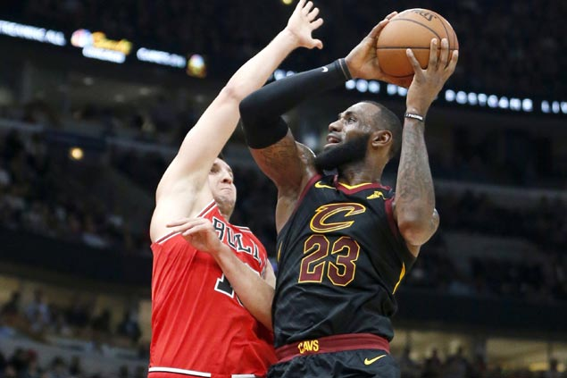 Cavs bounce back quick after slow start to stretch win run to 12 with rout of hapless Bulls