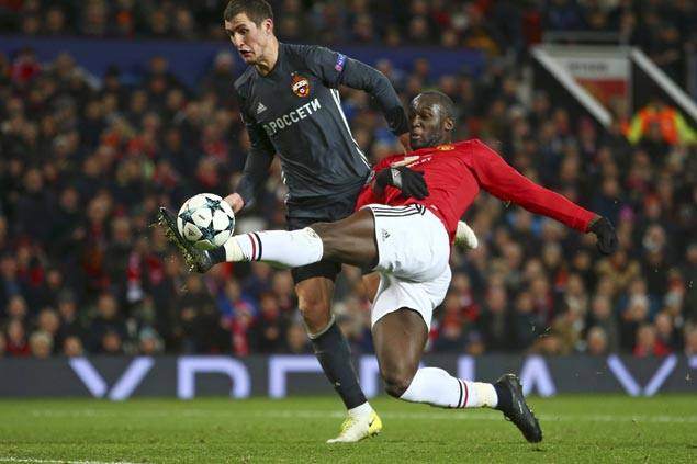 Manchester United makes stunning comeback over CSKA Moscow to top Champions League group