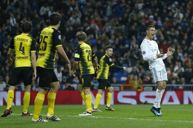 Cristiano Ronaldo sets another Champions League record in Real Madrid win over Dortmund