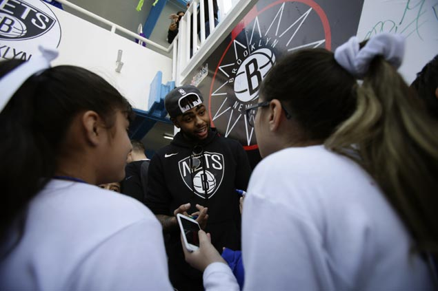 Nets players, coaches bring cheer to Mexico City but keep focus on clash with Thunder