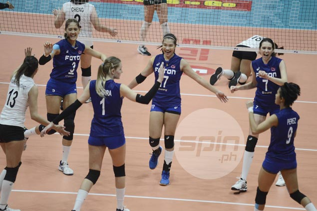 Foton fights back from a set down to beat Sta. Lucia, seals PSL Grand Prix semis duel vs Petron