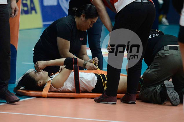 Double blow for Cignal as Marciano suffers injury in three-set PSL loss to Cocolife