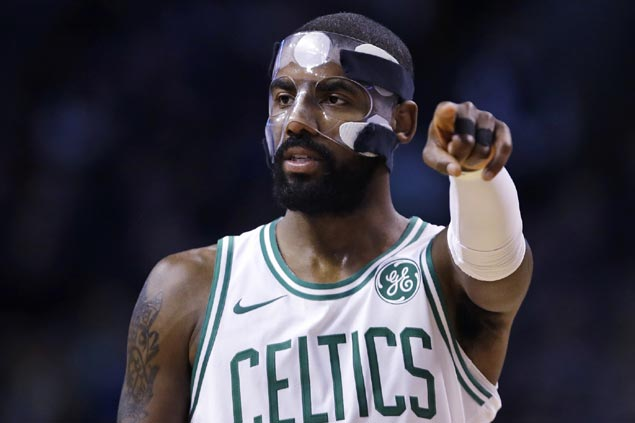 Kyrie Irving caps sizzling fourth quarter comeback as Celtics stun Mavs to roll to fourth straight win