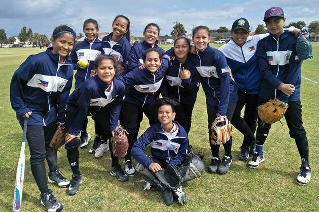 Philippine girls softball team advances unbeaten to Pacific School Games semis
