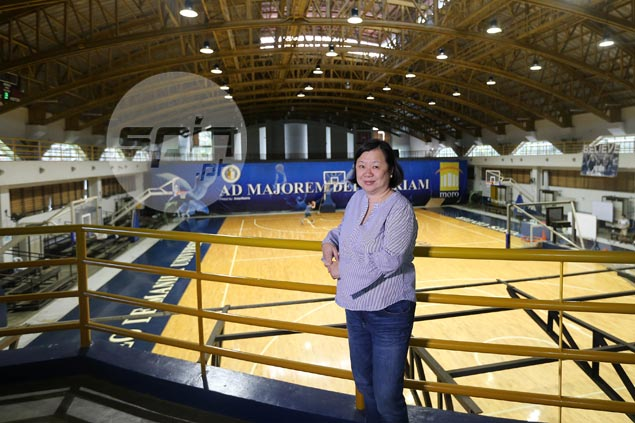 Meet Ateneo 'mother hen' who helps batches of Blue Eagles spread wings with TLC