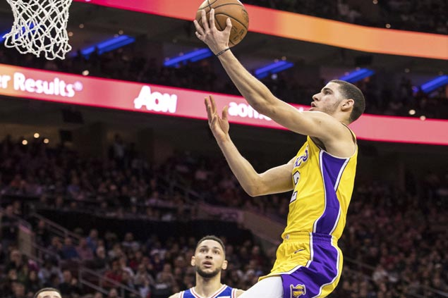 Lonzo Ball silences Philly boos by setting up Ingram for game-winning trey