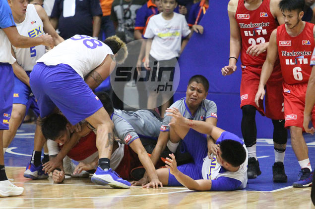 Poy Erram apologizes for elbow to Mike Miranda's face, admits he just lost it
